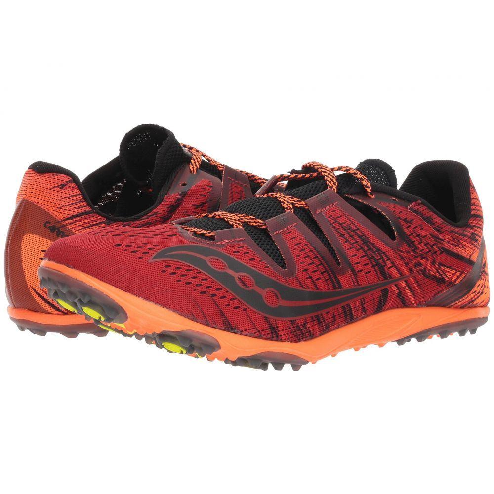 【海外輸入】 サッカニー Saucony メンズ Flat】Red/Orange メンズ ランニング・ウォーキング シューズ Saucony・靴【Carrera XC3 Flat】Red/Orange, 遊太郎:831c8684 --- nutrilablog.hu