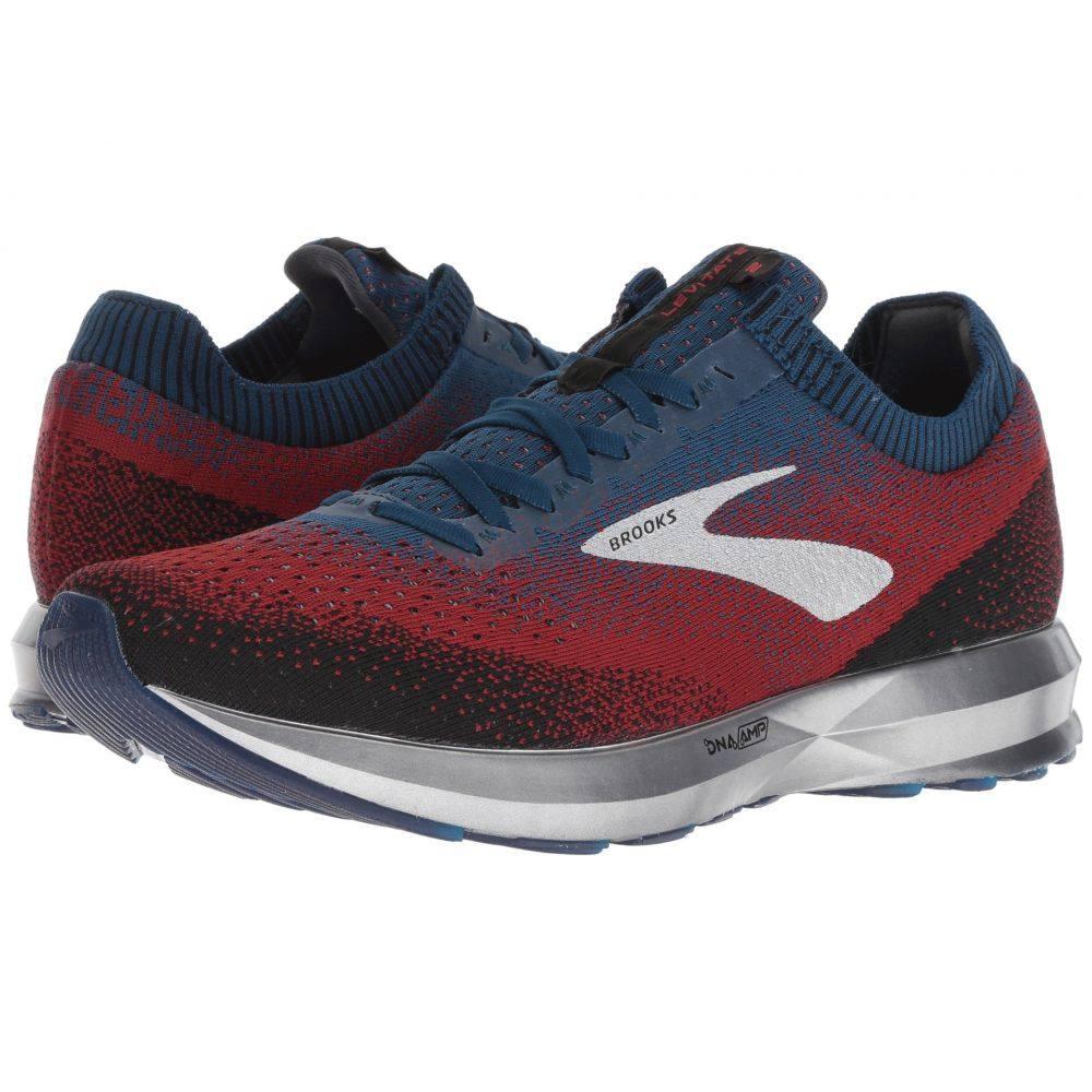 ブルックス Brooks メンズ ランニング・ウォーキング シューズ・靴【Levitate 2】Chili/Navy/Black