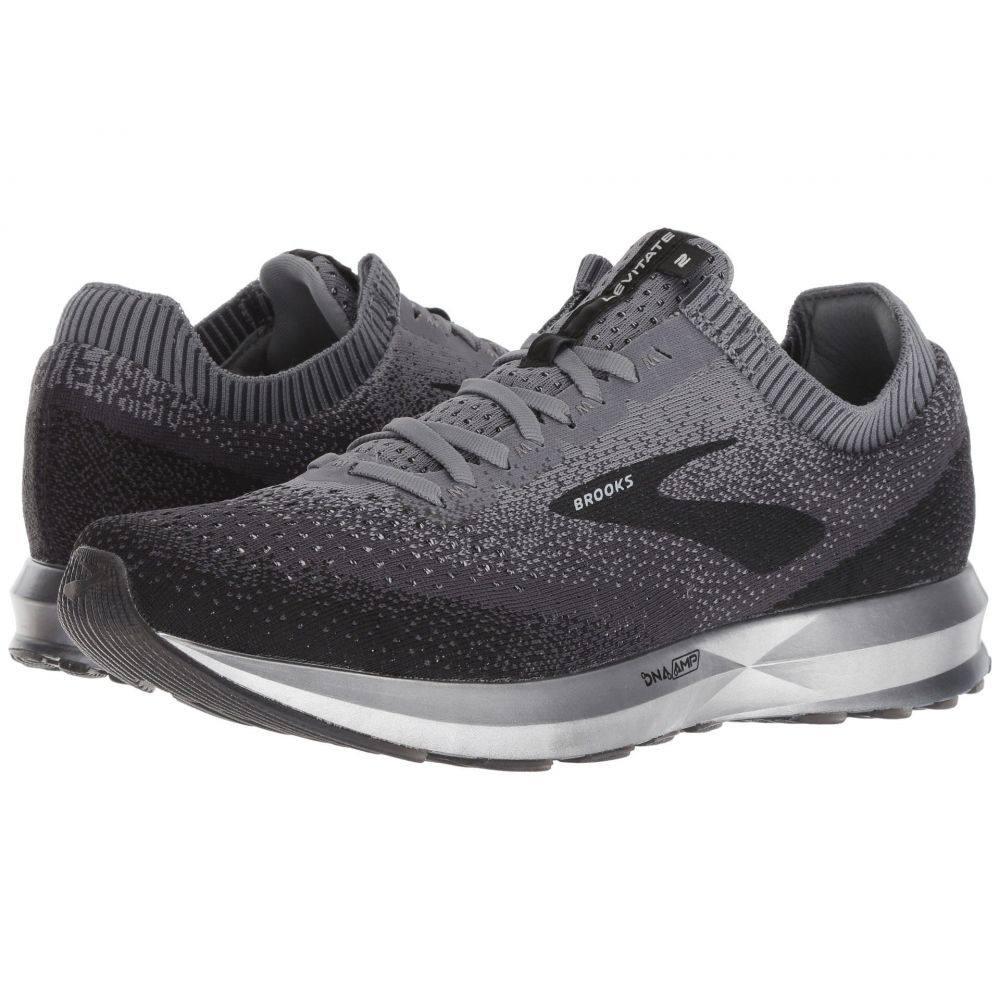 ブルックス Brooks メンズ ランニング・ウォーキング シューズ・靴【Levitate 2】Black/Grey/Ebony