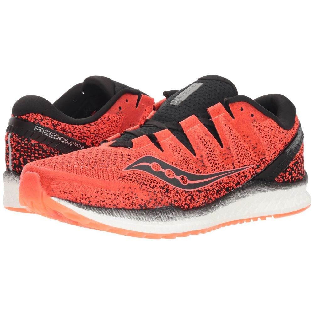 サッカニー Saucony メンズ ランニング・ウォーキング シューズ・靴【Freedom ISO】Vizi Red/Black