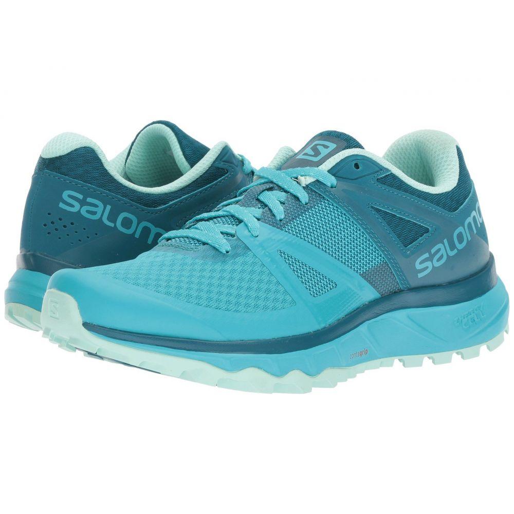 サロモン Salomon レディース ランニング・ウォーキング シューズ・靴【Trailster】Bluebird/Deep Lagoon/Beach Glass