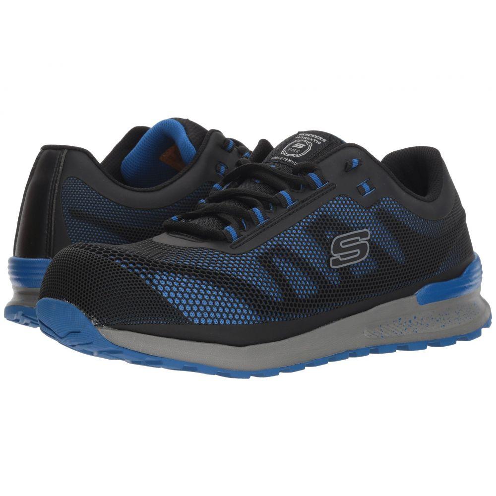 スケッチャーズ SKECHERS Work メンズ シューズ・靴 スニーカー【Bulklin Comp Toe】Blue