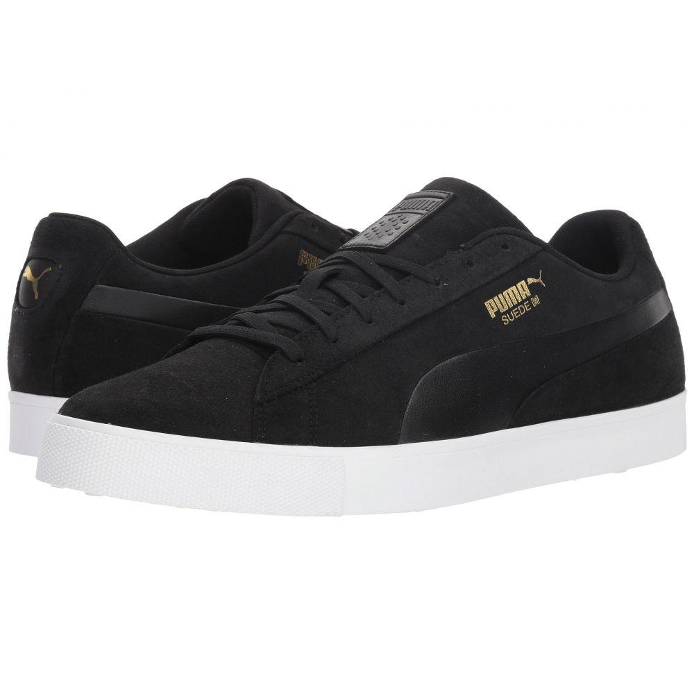 プーマ PUMA Golf メンズ ゴルフ シューズ・靴【Suede G】Puma Black/Puma Black