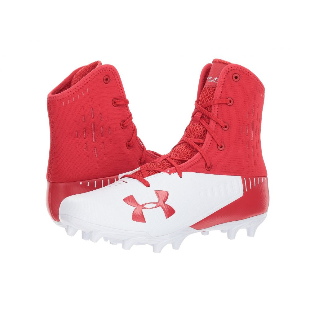【正規取扱店】 アンダーアーマー Under Armour メンズ アメリカンフットボール シューズ Armour メンズ MC】Red/White・靴【UA Highlight Select MC】Red/White, 石田金物:70959d01 --- supercanaltv.zonalivresh.dominiotemporario.com