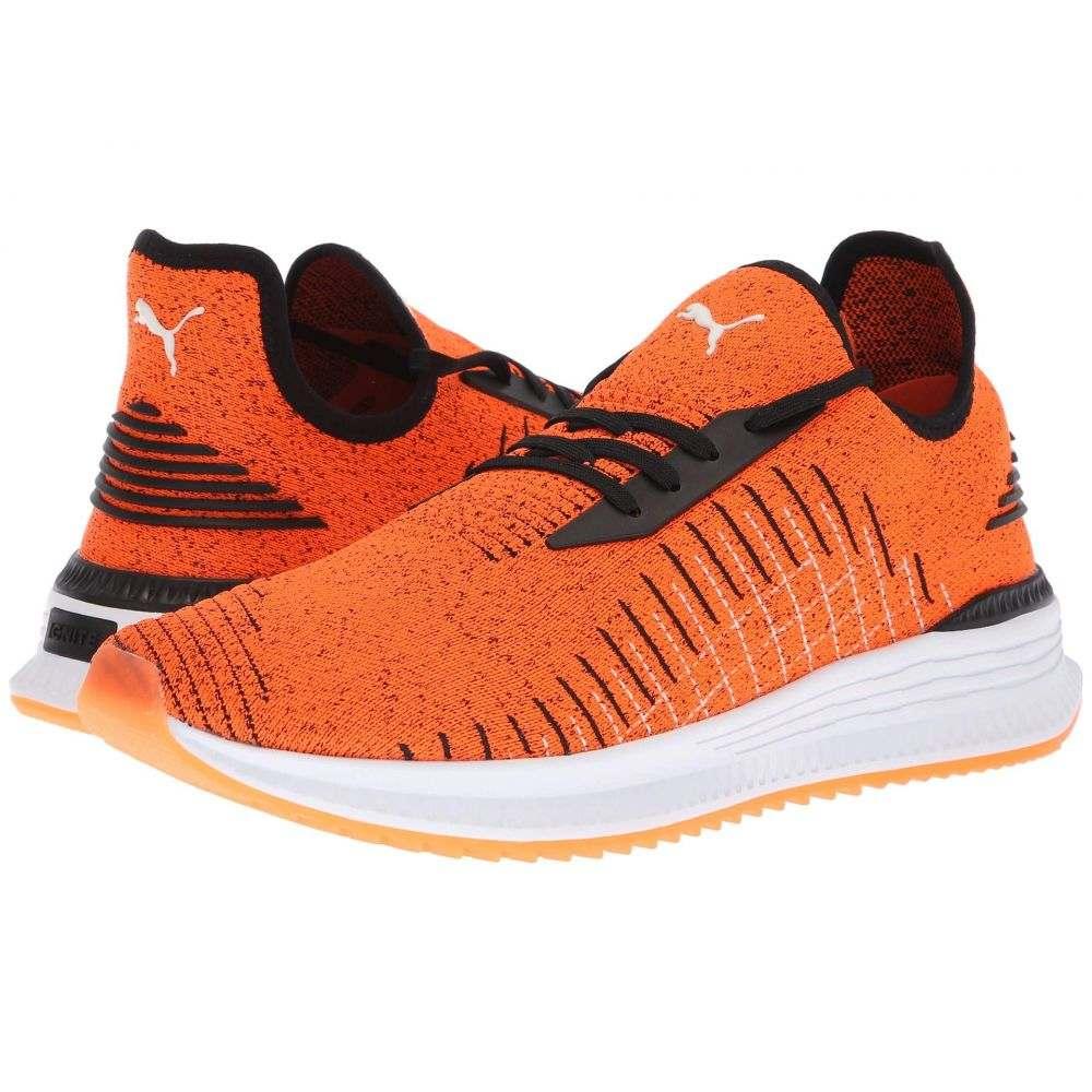 プーマ PUMA メンズ ランニング・ウォーキング シューズ・靴【Avid evoKNIT】Shocking Orange/Puma Black/Puma White