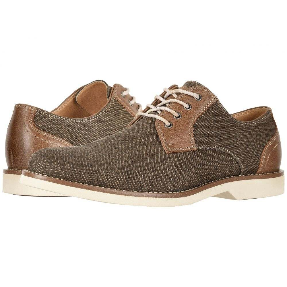 ジーエイチ バス G.H. Bass & Co. メンズ シューズ・靴 革靴・ビジネスシューズ【Proctor】Brown Canvas/Crazyhorse