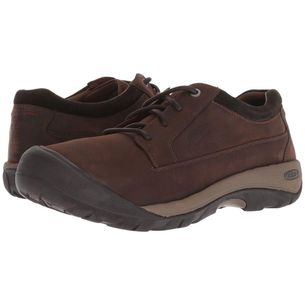キーン Keen メンズ シューズ・靴 スニーカー【Austin Casual WP】Chocolate Brown/Black Olive