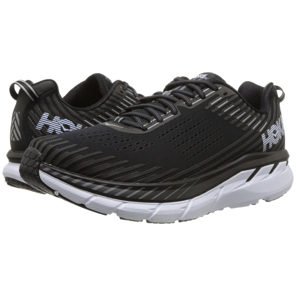 ホカ オネオネ Hoka One One メンズ ランニング・ウォーキング シューズ・靴【Clifton 5】Black/White