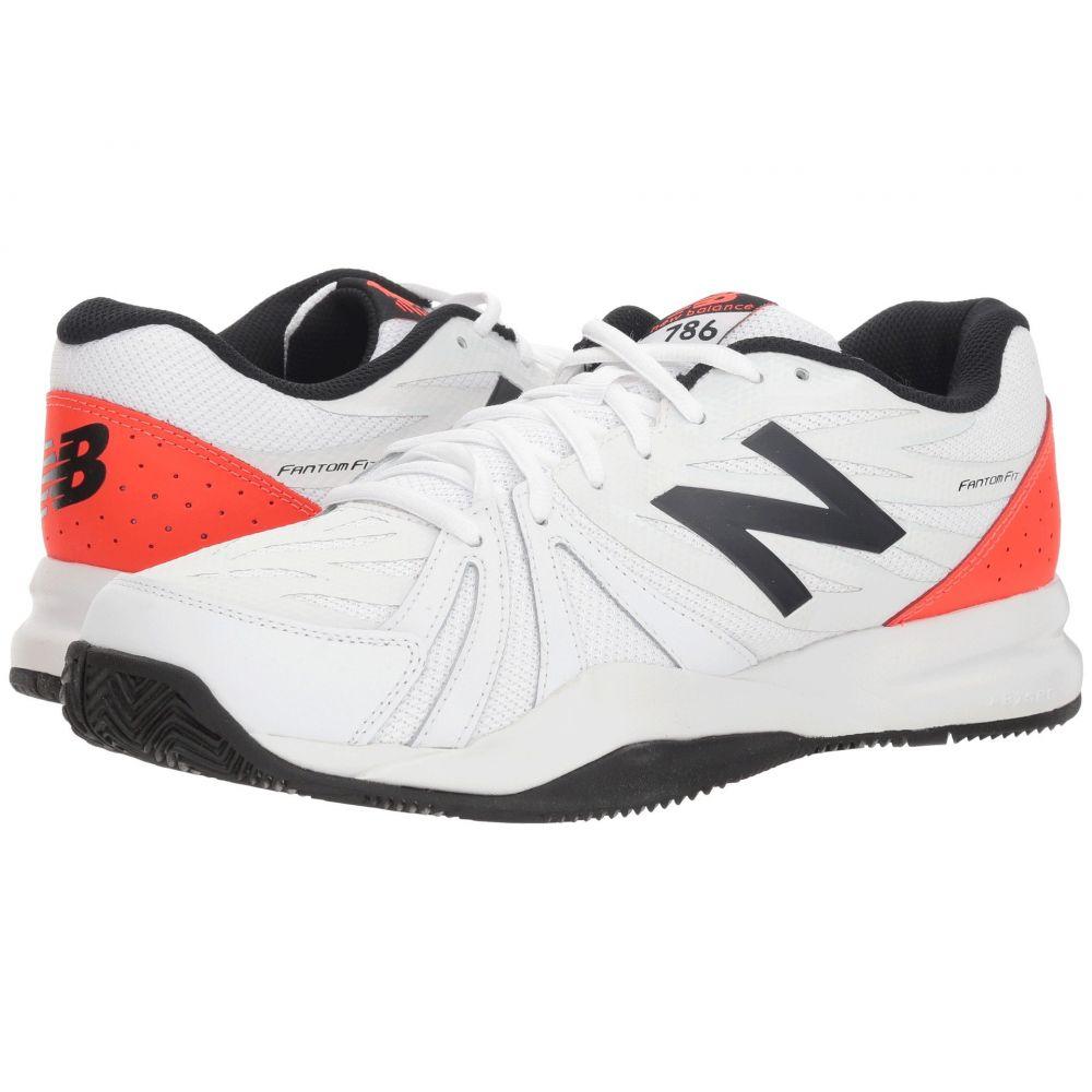 ニューバランス New Balance メンズ テニス シューズ・靴【MCH786v2 Tennis】Petrol/Flame