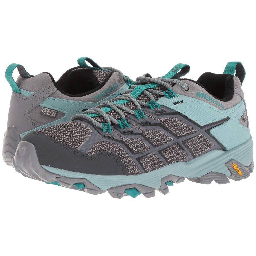メレル Merrell レディース ランニング・ウォーキング シューズ・靴【Moab FST 2 Low Waterproof】Frost/Aquifer