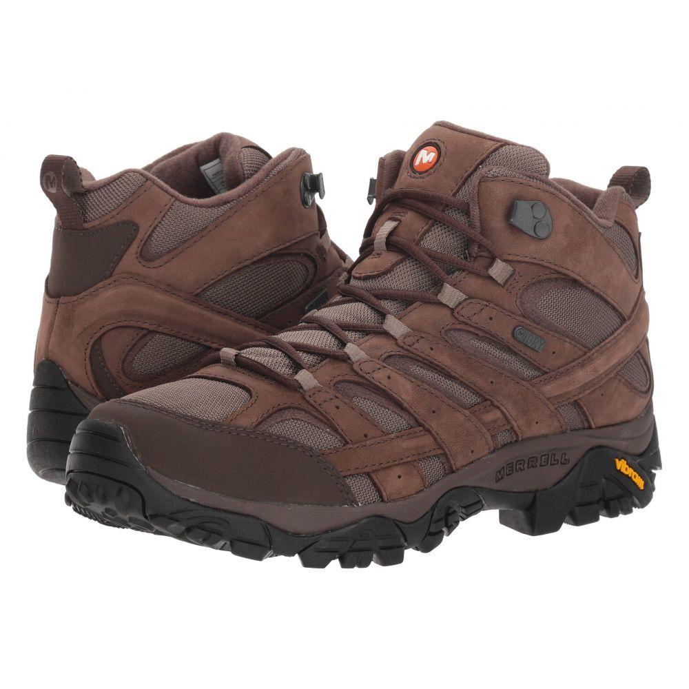 メレル Merrell メンズ ハイキング・登山 シューズ・靴【Moab 2 Smooth Mid Waterproof】Bracken