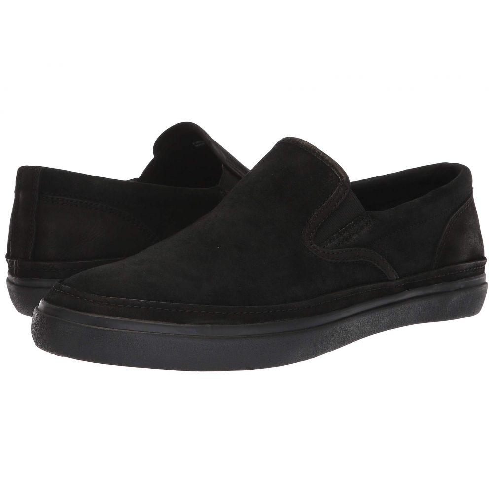 ジョン バルベイトス John Varvatos メンズ シューズ・靴 スリッポン・フラット【Jet Slip-On】Black
