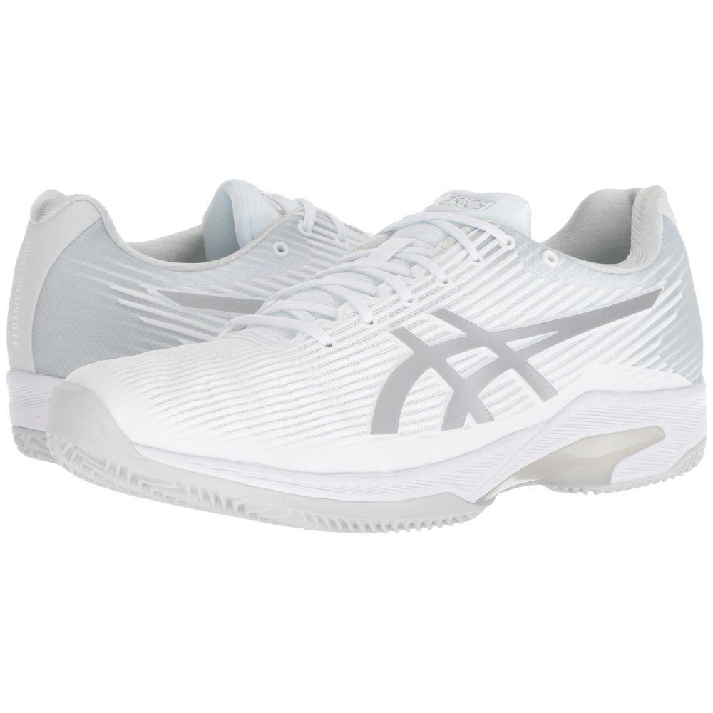 アシックス ASICS メンズ テニス シューズ・靴【Solution Speed Clay】White/Silver