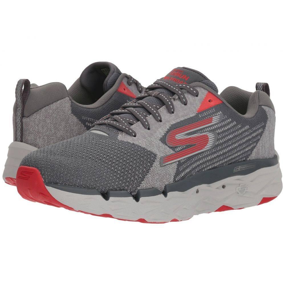 スケッチャーズ SKECHERS Performance メンズ ランニング・ウォーキング シューズ・靴【Go Run Max Road】Charcoal/Red