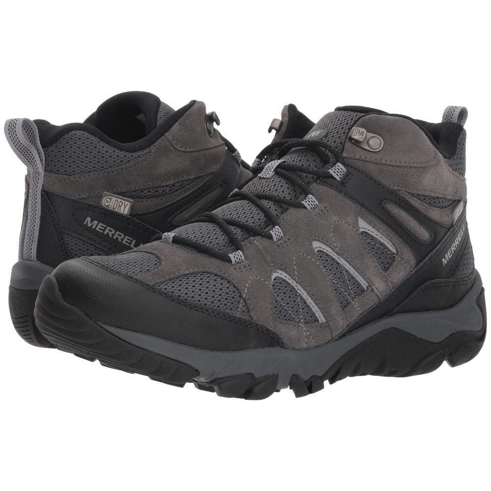 メレル Merrell メンズ ハイキング・登山 シューズ・靴【Outmost Mid Vent Waterproof】Granite