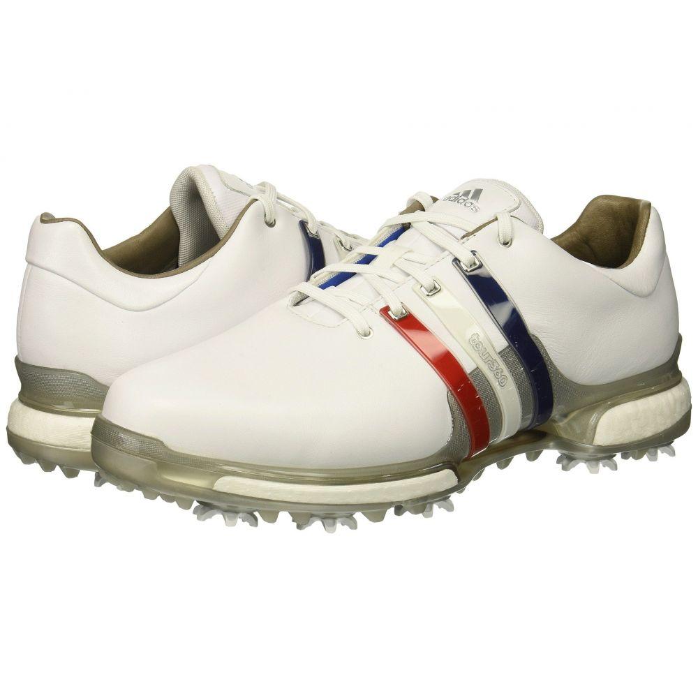 アディダス adidas Golf メンズ ゴルフ シューズ・靴【Tour360 2.0】Footwear White/Scarlet/Night Sky 1