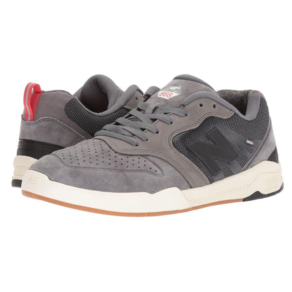 ニューバランス New Balance Numeric メンズ シューズ・靴 スニーカー【NM868】Grey/Black