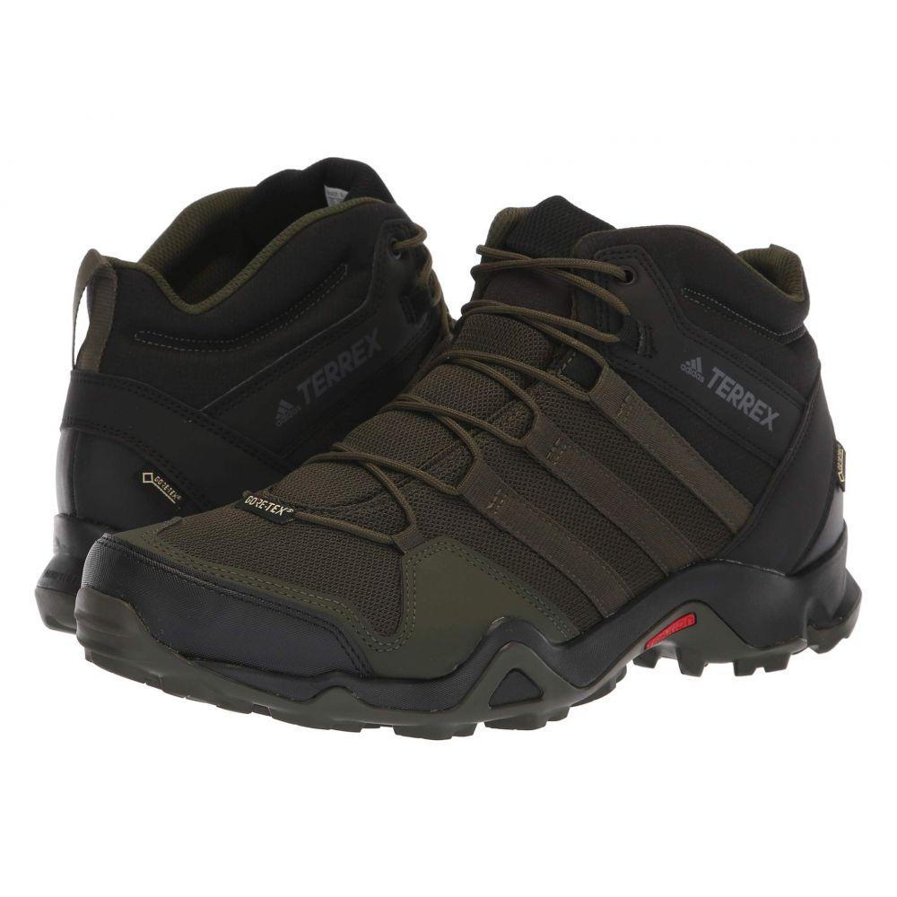 アディダス adidas Outdoor メンズ ハイキング・登山 シューズ・靴【Terrex AX2R Mid GTX】Night Cargo/Night Cargo/Black