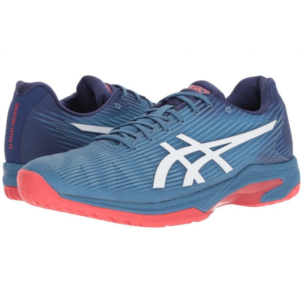 アシックス ASICS メンズ テニス シューズ・靴【Solution Speed FF】Azure/White