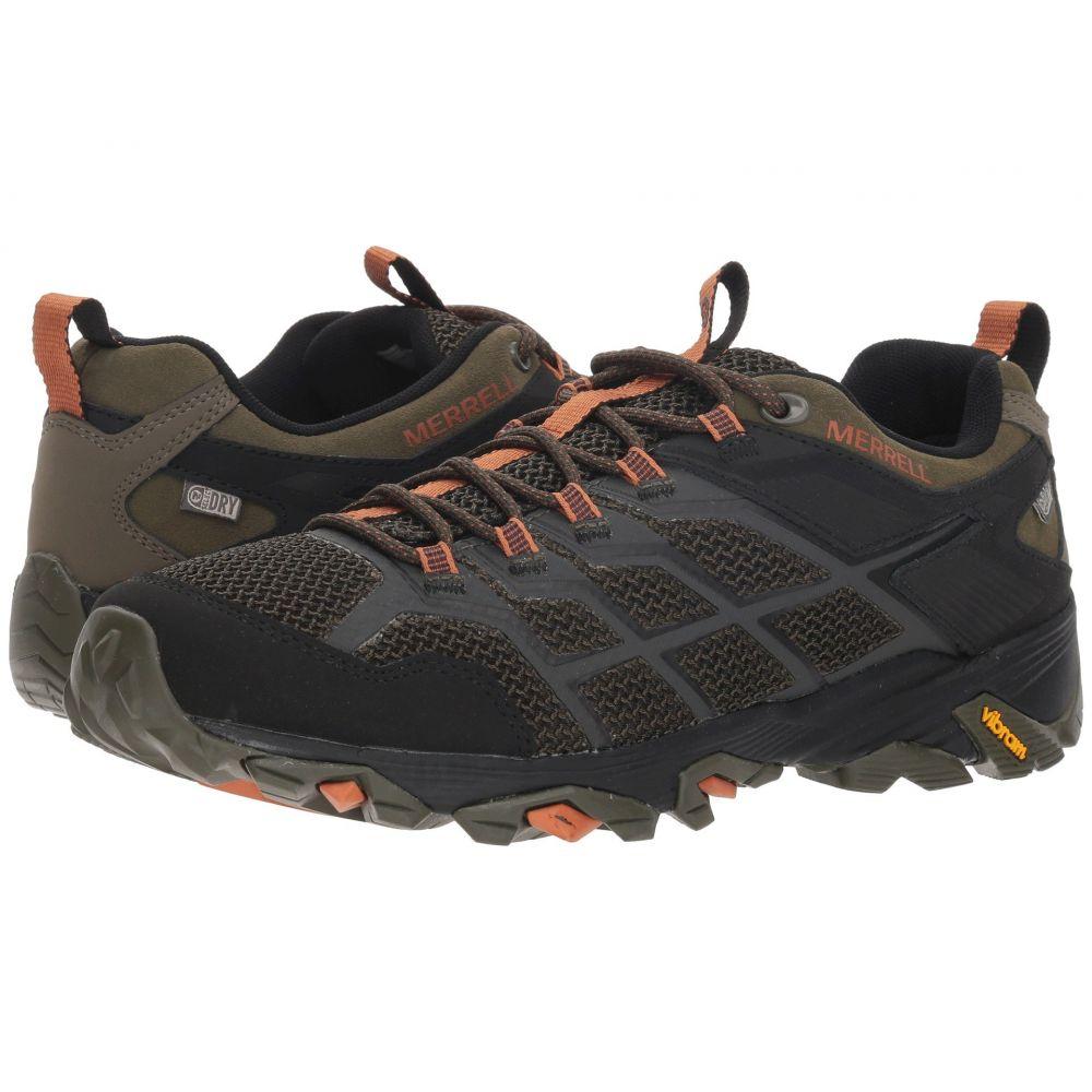 メレル Merrell メンズ ハイキング・登山 シューズ・靴【Moab FST 2 Low Waterproof】Olive/Adobe
