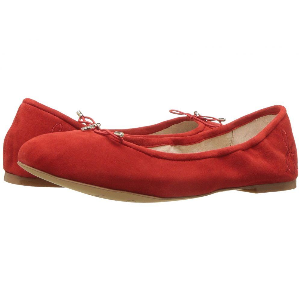 サム エデルマン Sam Edelman レディース シューズ・靴 スリッポン・フラット【Felicia】Candy Red Kid Suede Leather