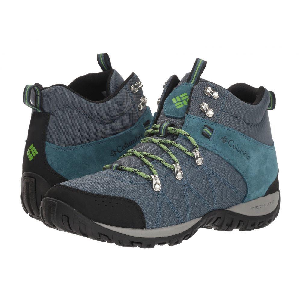 コロンビア Columbia メンズ ハイキング・登山 シューズ・靴【Peakfreak Venture Mid LT】Everblue/Spring