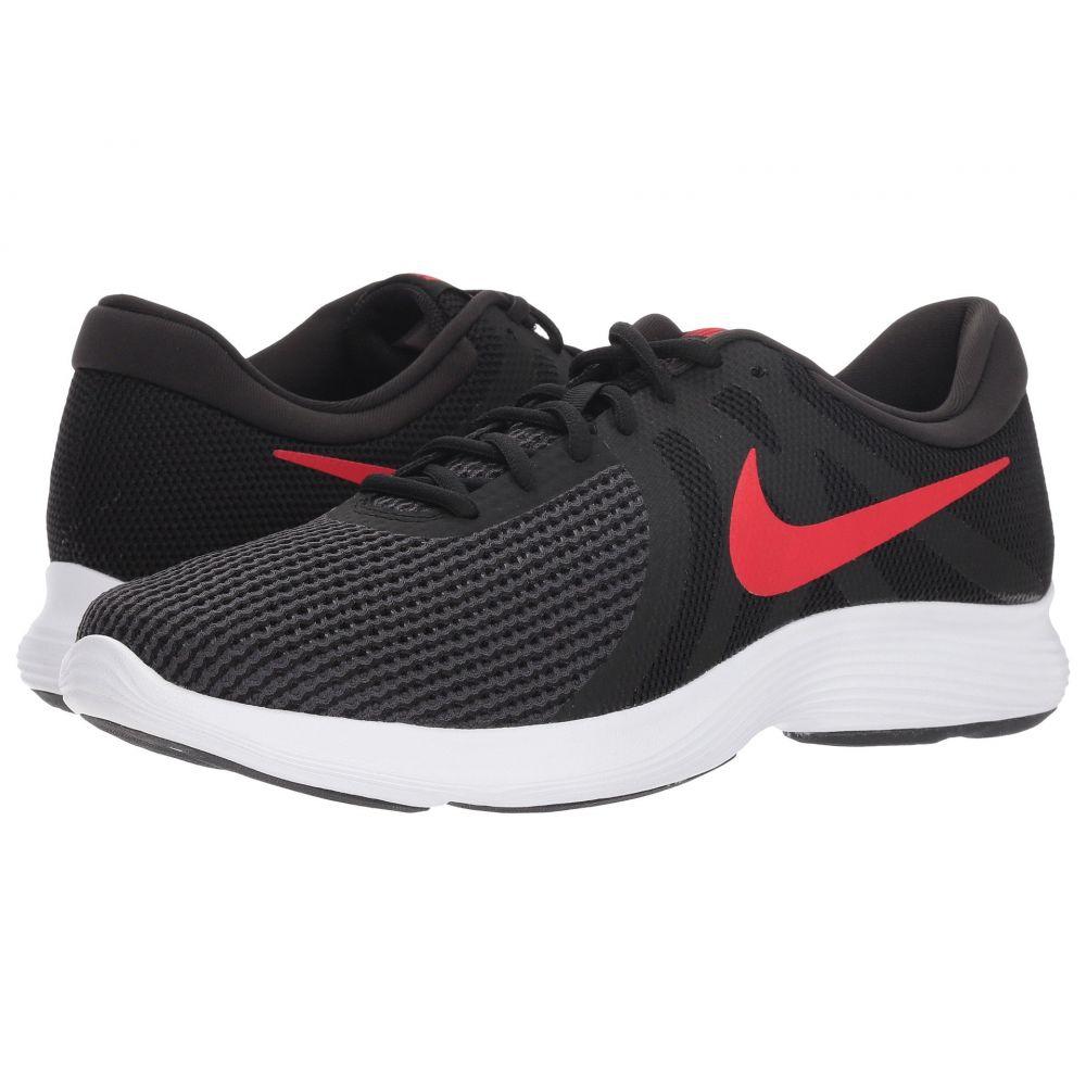 2019年秋冬新作 ナイキ Nike メンズ ランニング・ウォーキング シューズ・靴【Revolution 4】Black/University Red/Oil Grey/White, 広田村 90c0f9e1
