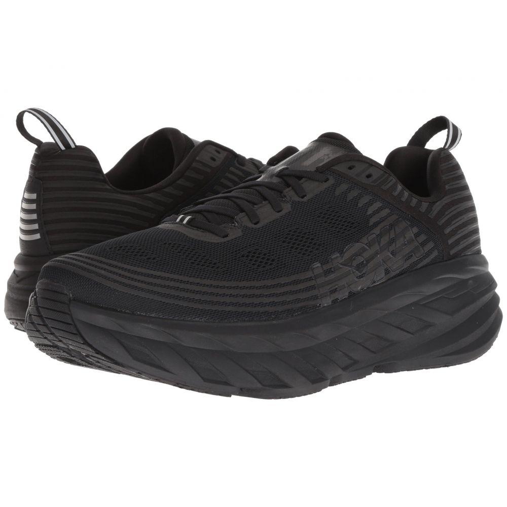 ホカ オネオネ Hoka One One メンズ ランニング・ウォーキング シューズ・靴【Bondi 6】Black/Black