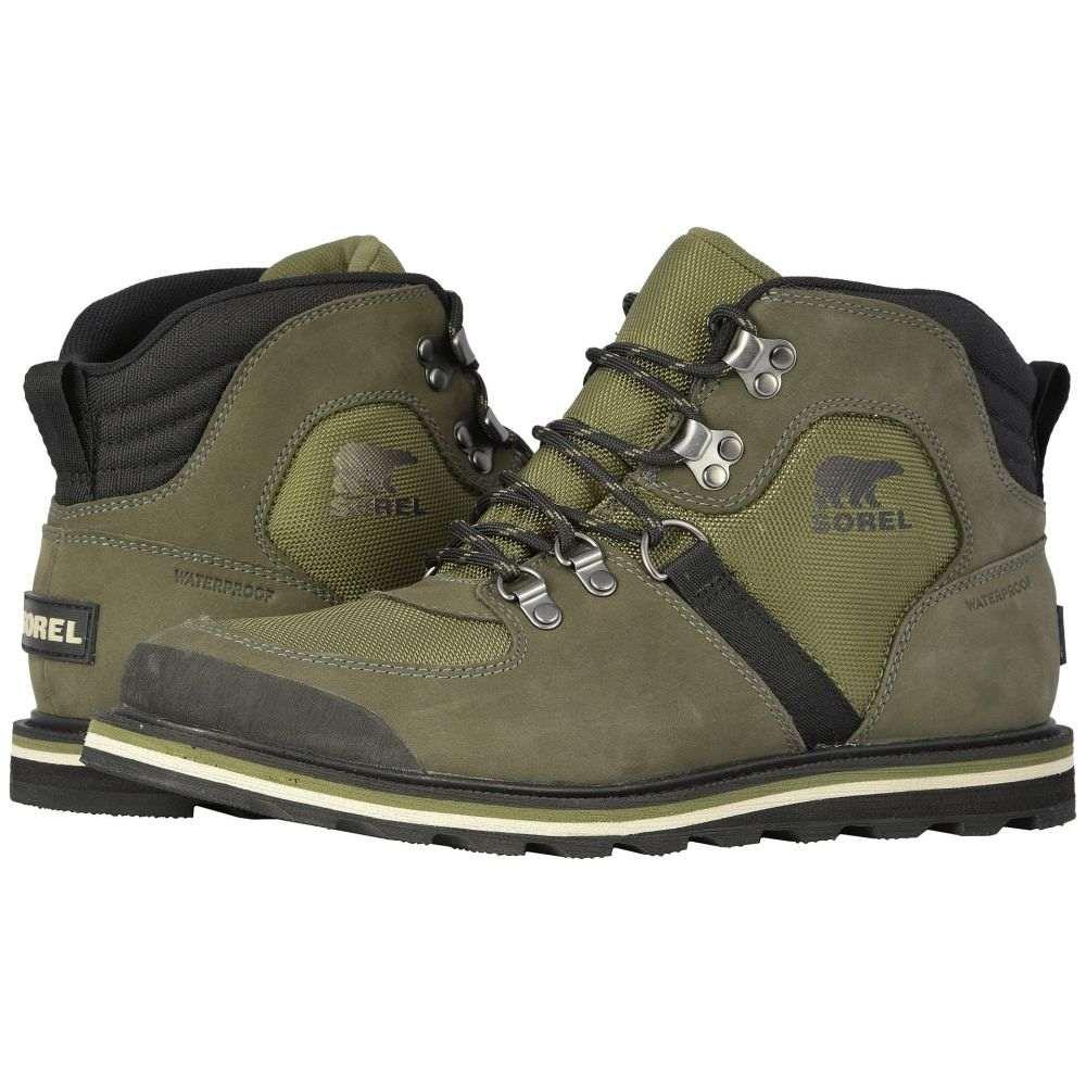 ソレル SOREL メンズ ハイキング・登山 シューズ・靴【Madson(TM) Sport Hiker Waterproof】Hiker Green/Alpine Tundra