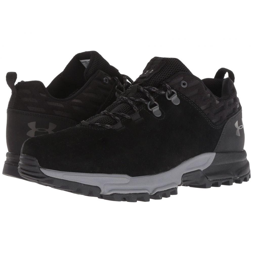 アンダーアーマー Under Armour メンズ ハイキング・登山 シューズ・靴【UA Brower Low Waterproof】Black/Zinc Gray/Charcoal