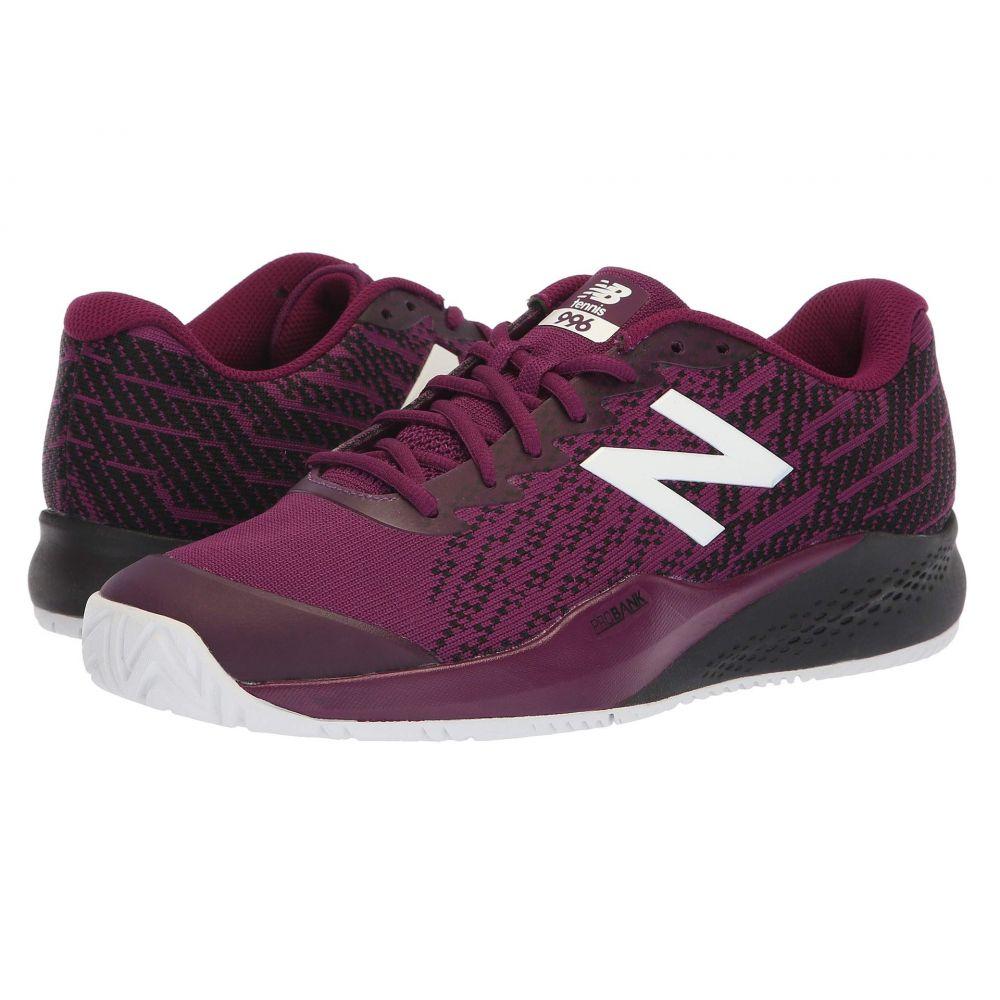 ニューバランス New Balance メンズ テニス シューズ・靴【MCH996v3 Tennis】Claret/Black