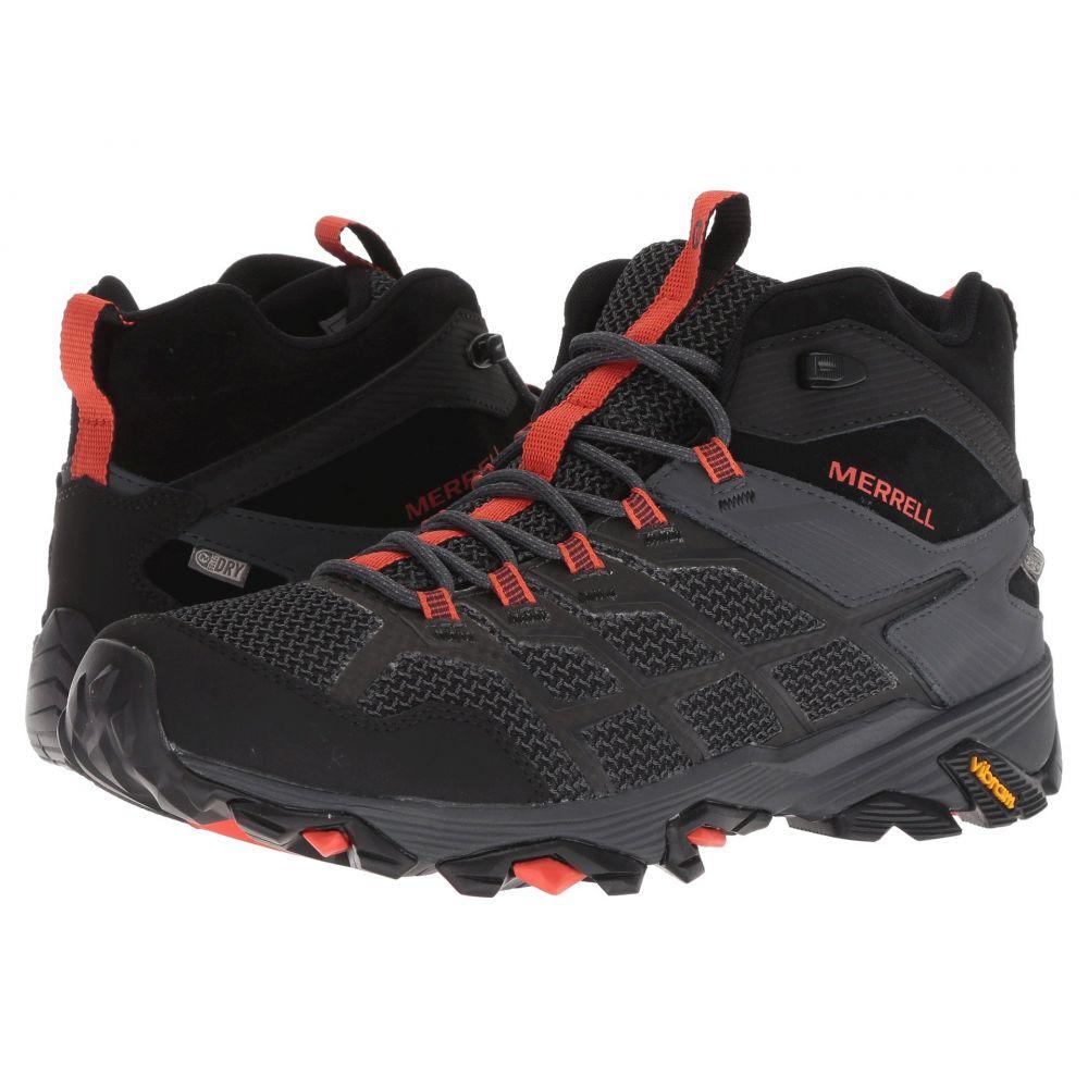 メレル Merrell メンズ ハイキング・登山 シューズ・靴【Moab FST 2 Mid Waterproof】Black/Granite