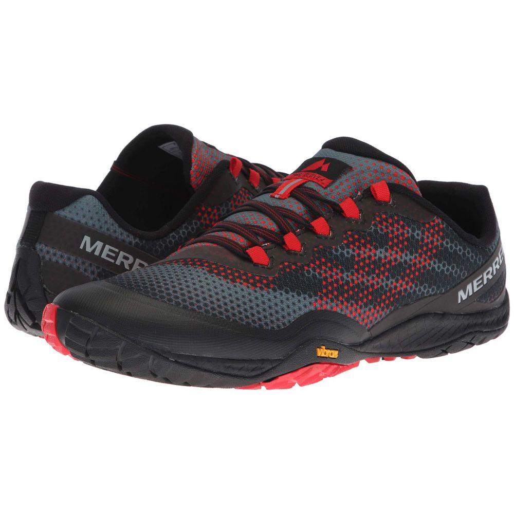 メレル Merrell メンズ ランニング・ウォーキング シューズ・靴【Trail Glove 4 Shield】Black/Red