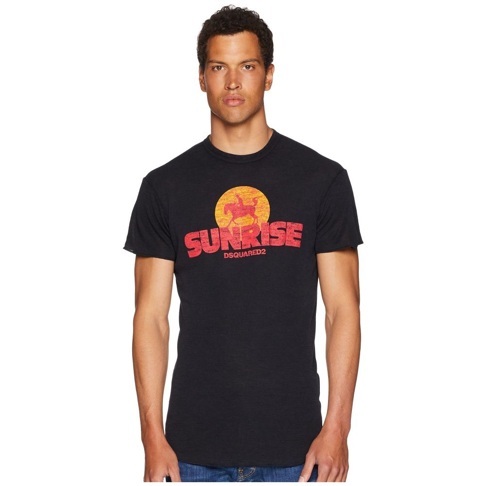 ディースクエアード DSQUARED2 メンズ トップス Tシャツ【Sunrise T-Shirt】Black