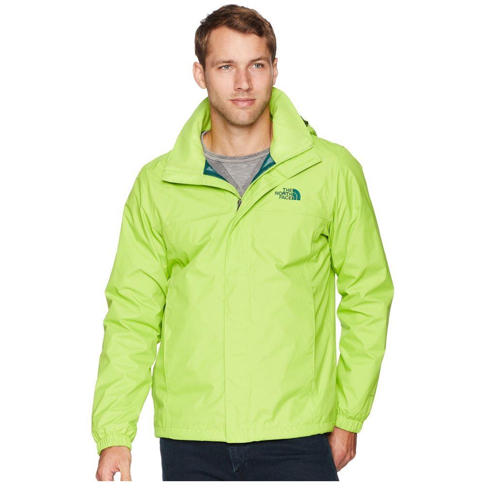 ザ ノースフェイス The North Face メンズ アウター レインコート【Resolve 2 Jacket】Lime Green/Botanical Garden Green