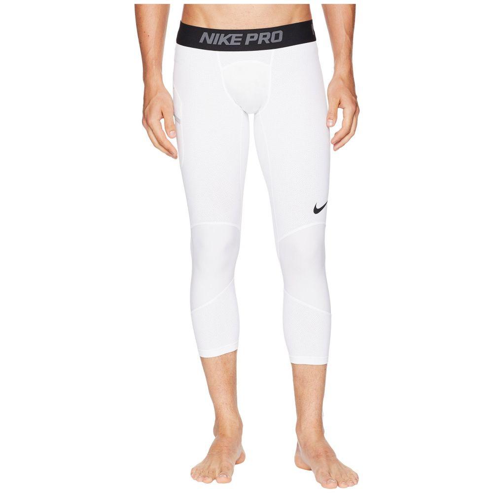 ナイキ Nike メンズ バスケットボール ボトムス・パンツ【Dry 3/4 Basketball Tights】White/Black