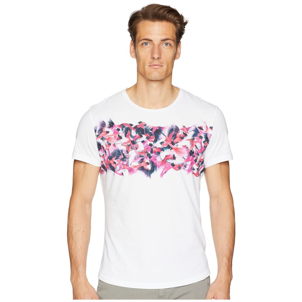 オールバー ブラウン Orlebar Brown メンズ トップス Tシャツ【Ob-T Birds Of Paradise Tailored Fit Crew Neck T-Shirt】Birds of Paradise