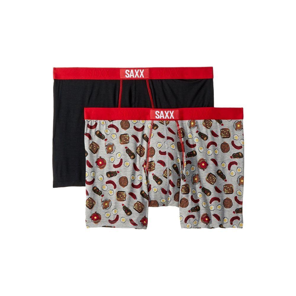 サックス SAXX UNDERWEAR メンズ インナー・下着 ボクサーパンツ【Vibe Boxer Brief 2-Pack】Hangover Cure