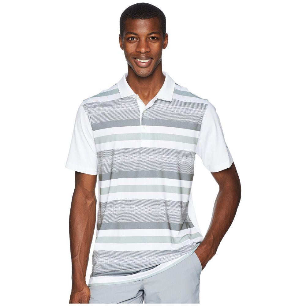 プーマ PUMA Golf メンズ ゴルフ トップス【Turf Stripe Polo】Bright White/Quiet Shade