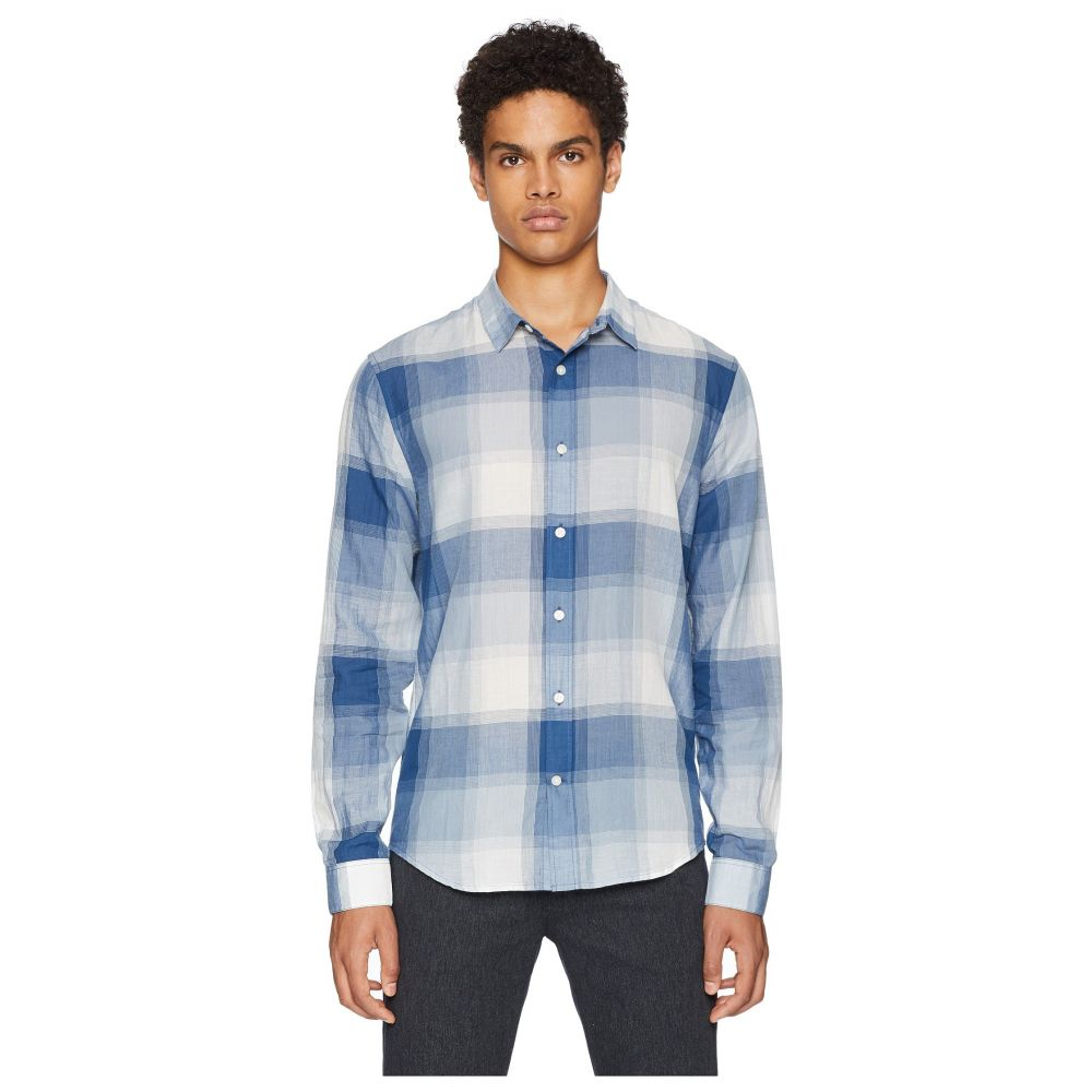 ヴィンス Vince メンズ トップス シャツ【Vintage Plaid Long Sleeve Shirt】Ocean