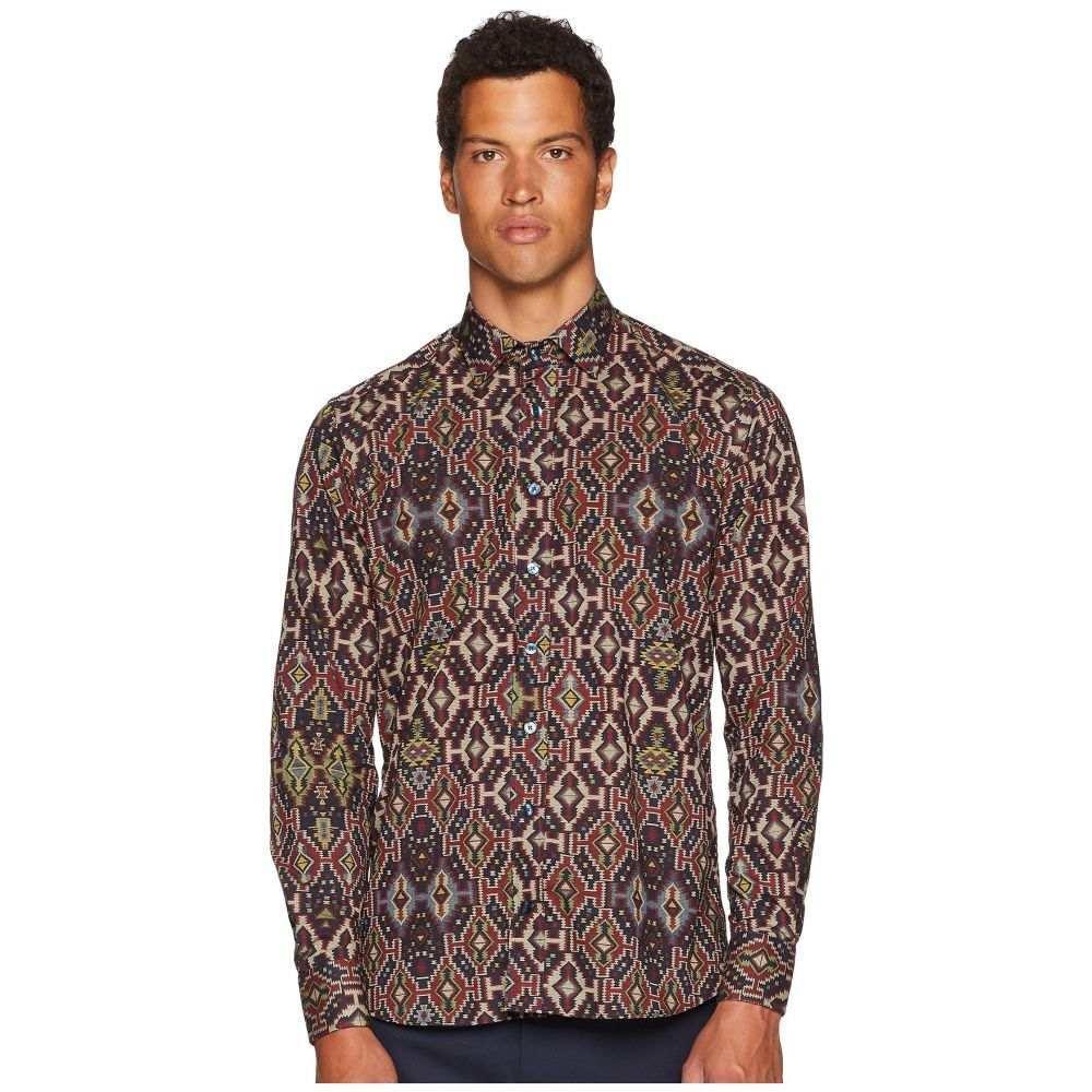 エトロ Etro メンズ トップス シャツ【New Warrant Carpet Print Shirt】Brown