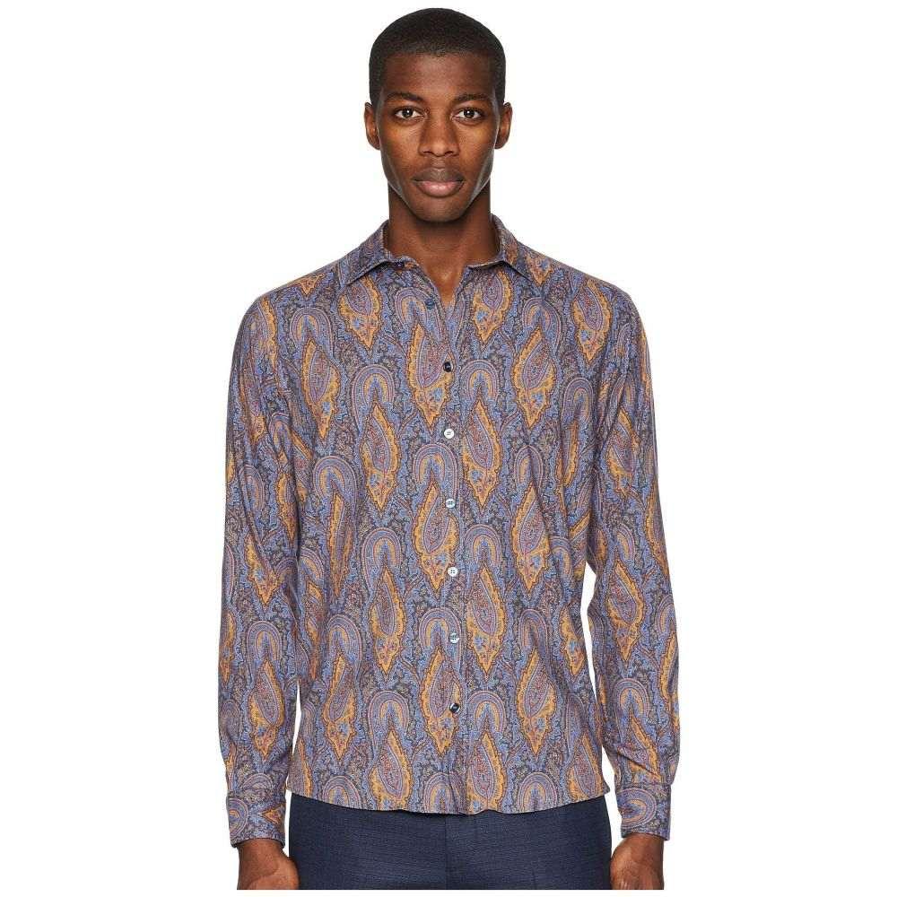 エトロ Etro メンズ トップス シャツ【Tom Paisley Shirt】Blue
