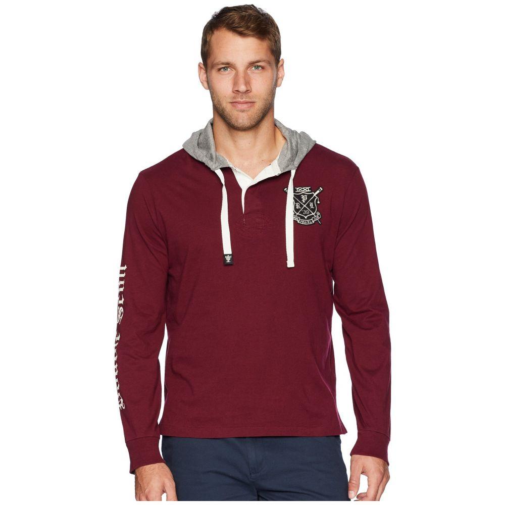 ラルフ ローレン Polo Ralph Lauren メンズ トップス【Rugby Jersey Pullover T-Shirt】Classic Wine