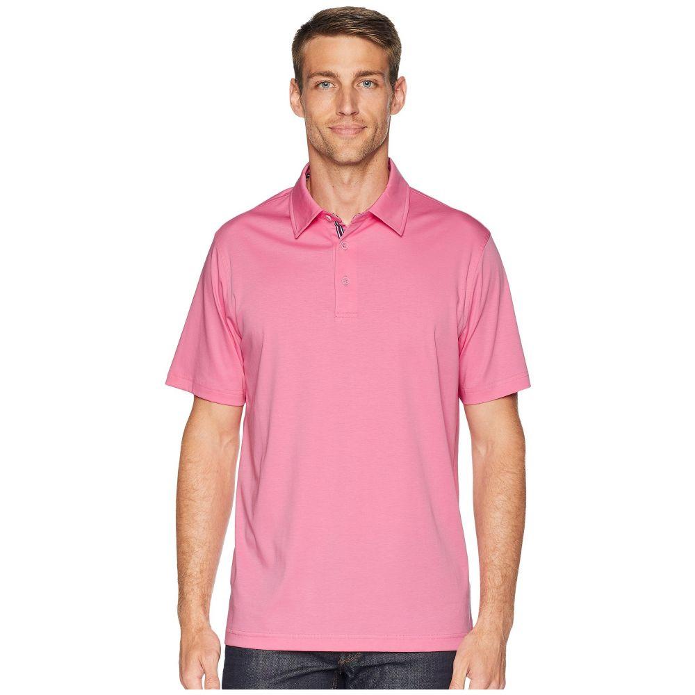 ブガッチ BUGATCHI メンズ トップス ポロシャツ【Mercerized Cotton Polo】Pink