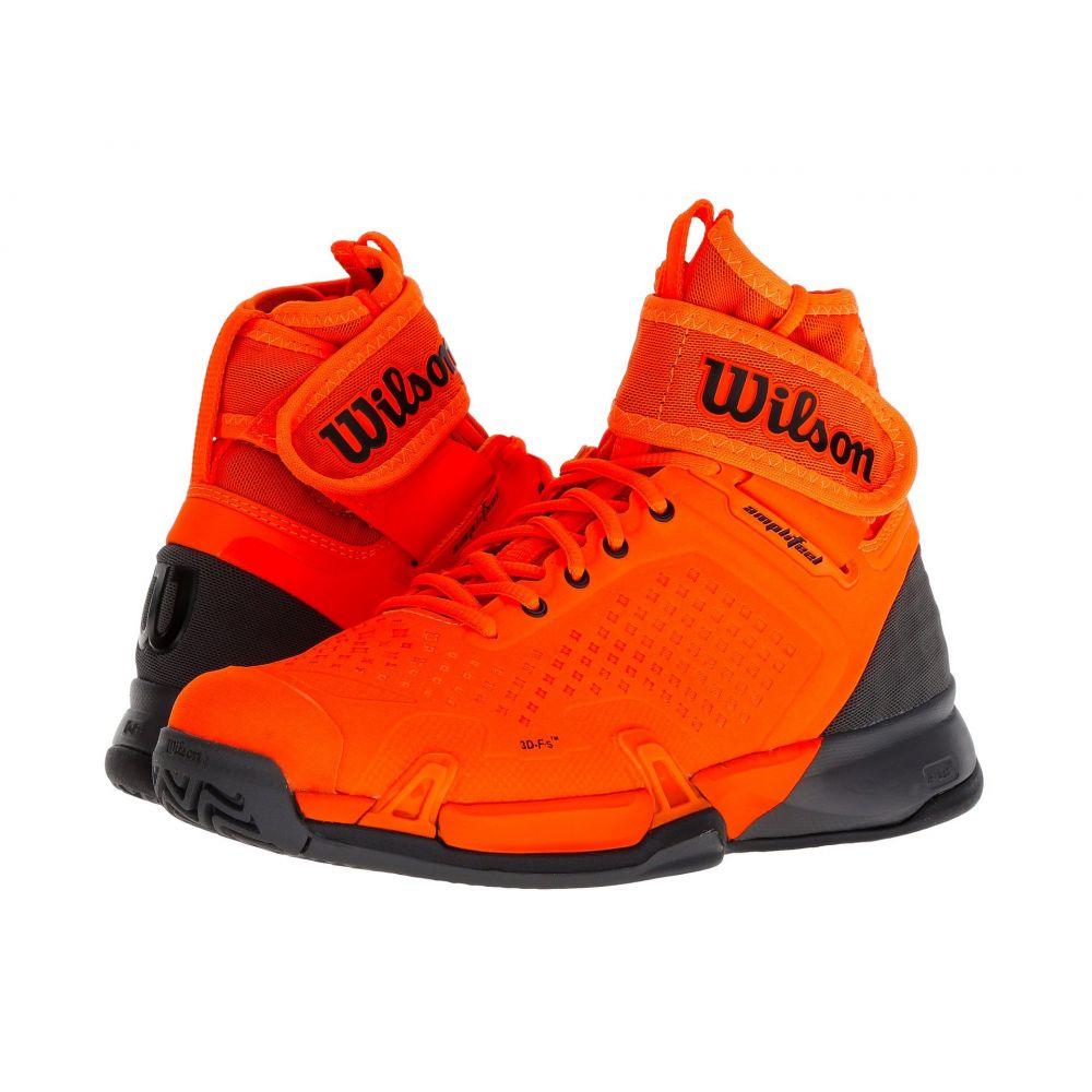 ウィルソン Wilson レディース テニス シューズ・靴【Amplifeel】Shocking Orange/Magnet/Black