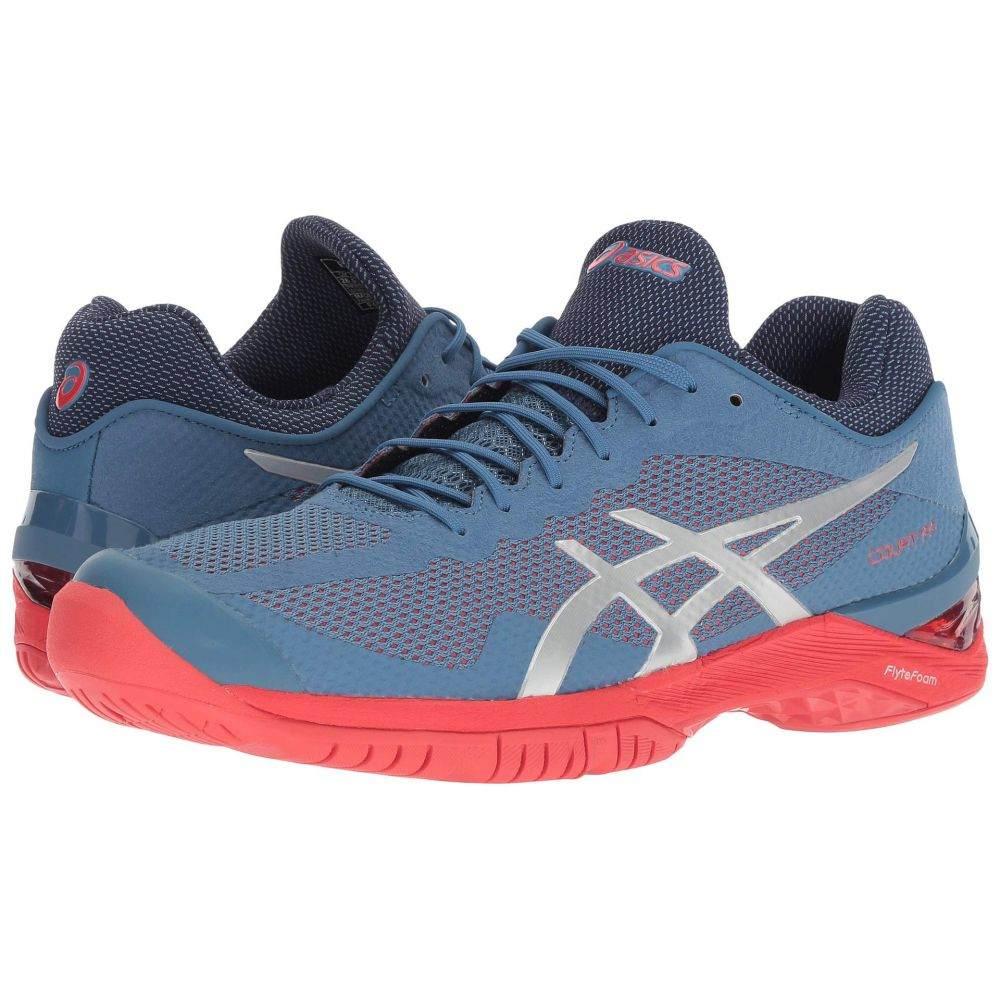 アシックス ASICS レディース テニス シューズ・靴【Court FF】Azure/Silver