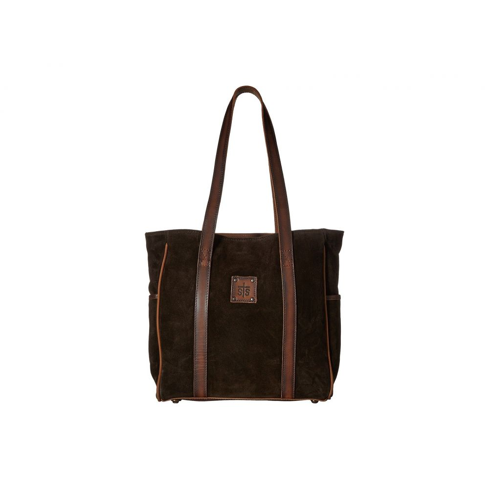 STSランチウェア STS Ranchwear レディース バッグ トートバッグ【Heritage Tote】Chocolate Suede/Tornado Brown