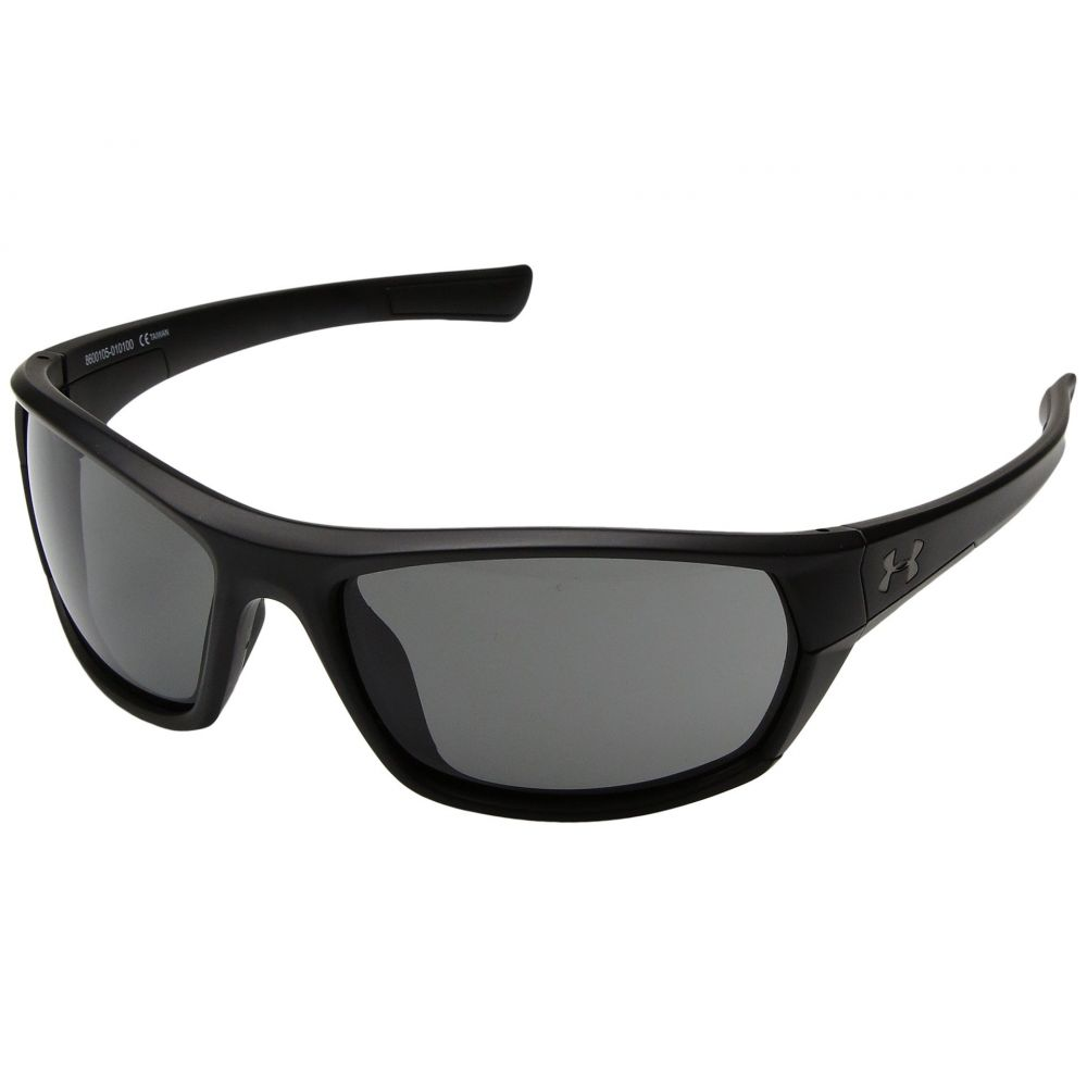 アンダーアーマー Under Armour メンズ スポーツサングラス【Powerbrake】Satin Black/Black Frame/Gray Lens