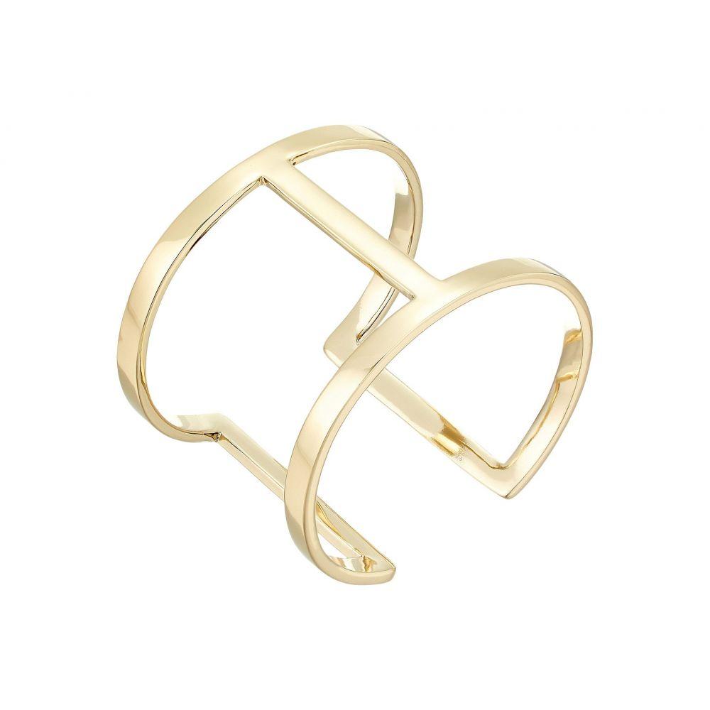 ヴィンス カムート Vince Camuto レディース ジュエリー・アクセサリー ブレスレット【Sculptural Open Cuff Bracelet】Gold