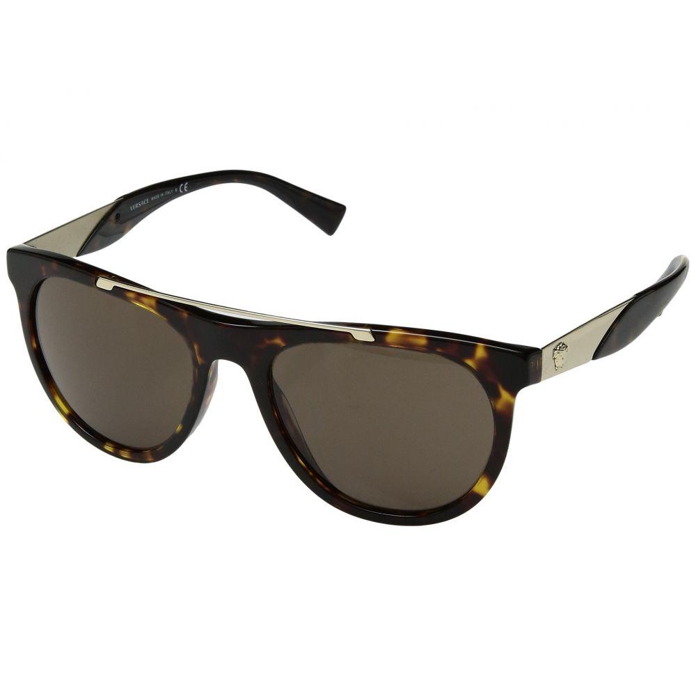 ヴェルサーチ Versace メンズ メガネ・サングラス【VE4347】Havana/Brown Gradient
